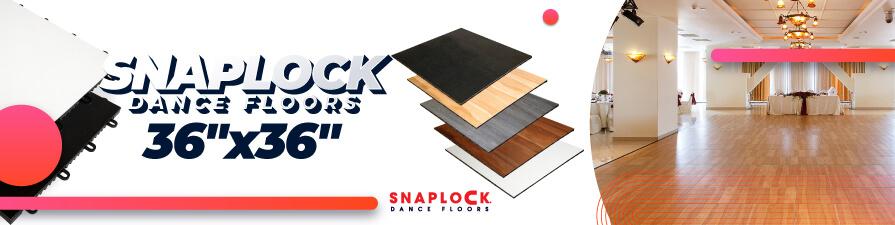 """SnapLock Dance Floor Kits - 36"""" Tiles"""