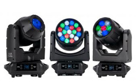 IP65 Outdoor Rated Moving Heads