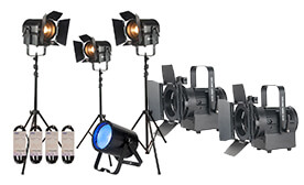 Live Stream Lighting Packages