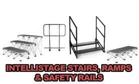IntelliStage Stairs, Ramps & Safety Rails