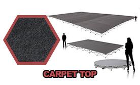 Carpet Top Platform & Riser Sets