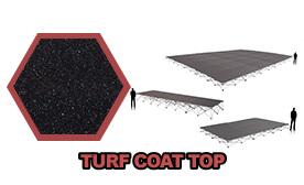 Turf Coat Top Platform & Riser Sets