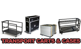 IntelliStage Transport Carts & Cases