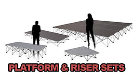 IntelliStage Platform & Riser Sets
