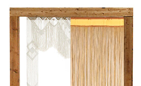 String Curtains & Macramé