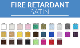 Fire Retardant Satin