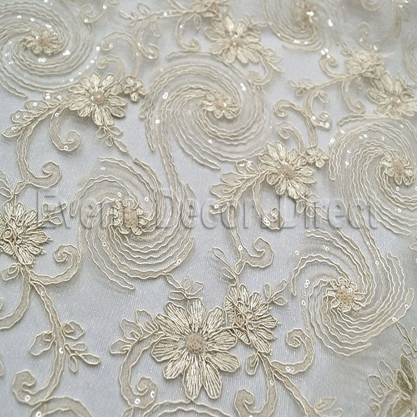 Blossoming Lace Overlay