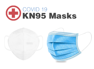 Covid-19 KN95 Masks & Sanitizers