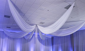 Prefabricated Ceiling Drape Kits