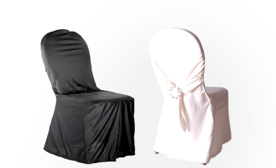 Scuba (Polyester Flex) Chair Covers