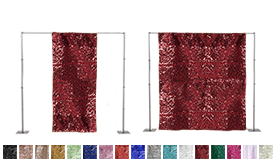 Standard Sequin Backdrop Panels