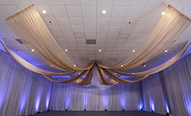 Starburst Ceiling Draping Kits