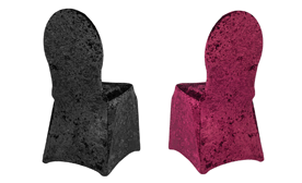 Stretch Velvet Chair Covers