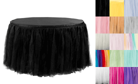 Tulle Tutu Table SKirts