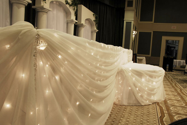 Wedding Table Skirts Special Events Linens Event D 233 Cor