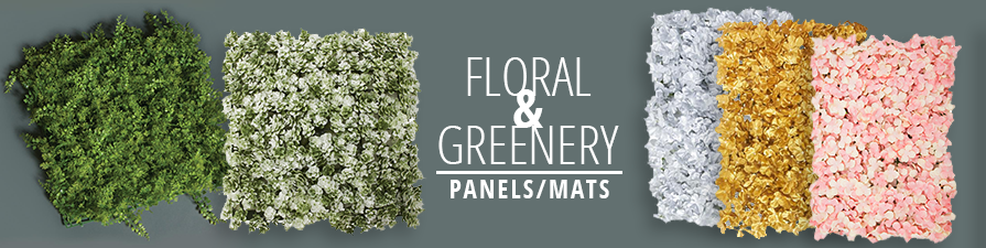 Floral & Greenery Panels/Mats
