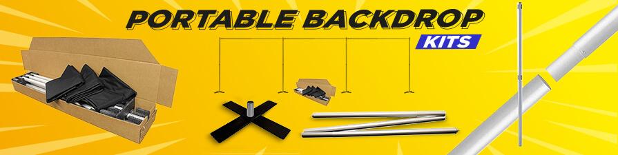 Portable Backdrop Kits