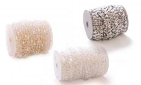 Beads & Crystals By The Roll/Garland