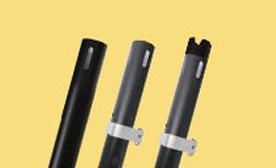 Pro Series Black Anodized Uprights