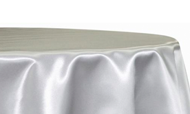 Bridal Satin Tablecloths