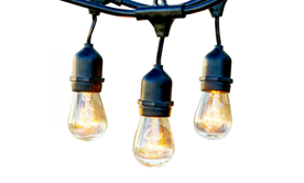 Edison Bulbs & Cafe Lights