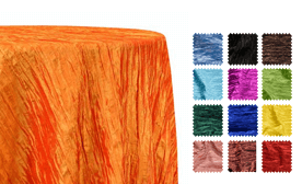 Bright Accordion Taffeta Tablecloths