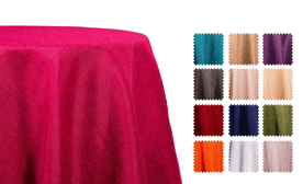 Fiesta Linen Broad Tablecloth