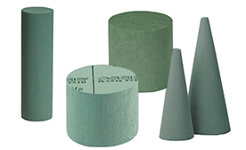 Floral Foam Cylinders and Cones