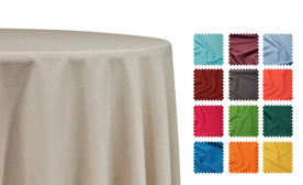 Poly Poplin Tablecloths
