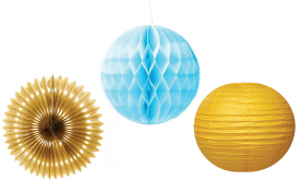 Paper Lanterns & Other Paper Decor