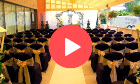 Ceremony Decor and Draping