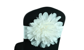 Flower Chair Bands