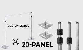 Versatop™ 2.0® 20 Panel Kits (140-240 Feet Wide)