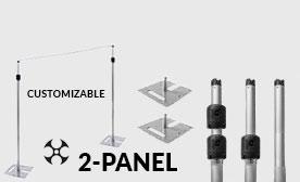 Versatop™ 2.0® 2-Panel Kits (14-24 Feet Wide)