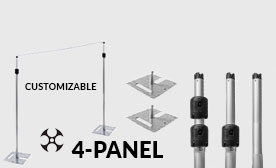 Versatop™ 2.0® 4-Panel Kits (28-48 Feet Wide)