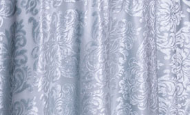 Damask Sheer Overlay
