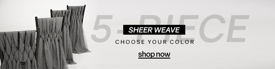 Designer Chiavari Weave 5 Piece