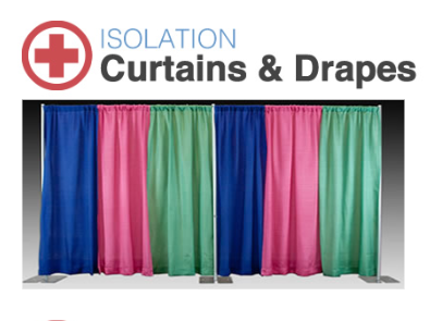 Covid-19 Isolation Curtains