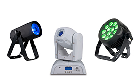 ADJ Pro LED Lighting