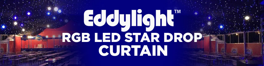 RGB LED Star Curtain
