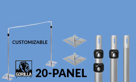 20 Panel Kits (140-240 Feet Wide