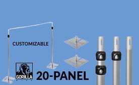 20 Panel Kits (140-240 Feet Wide