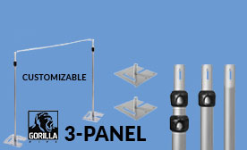3-Panel Kits (21-36 Feet Wide)