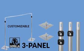 3-Panel Kits (21-36 Feet Wide)