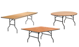 Plywood Tables