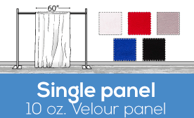 10oz Performance  Velour Panels - 60