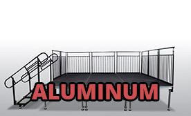Portable Aluminum Stages