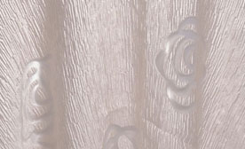 Rose Linen Burnout Tablecloth