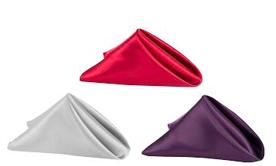 Deco Satin Napkins