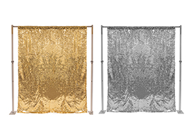 Sequin Backdrop Curtains